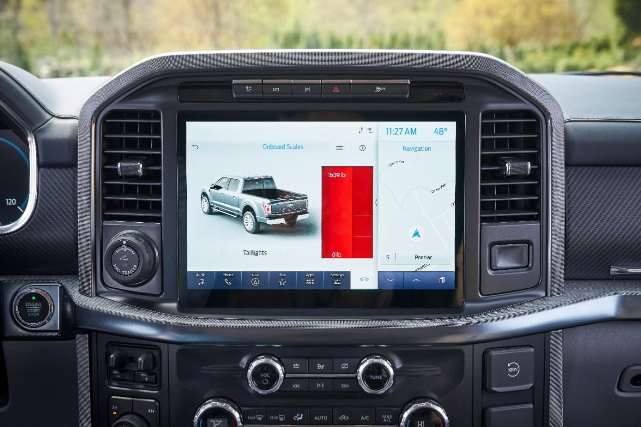 Ford F-150 Onboard Scales screen 1