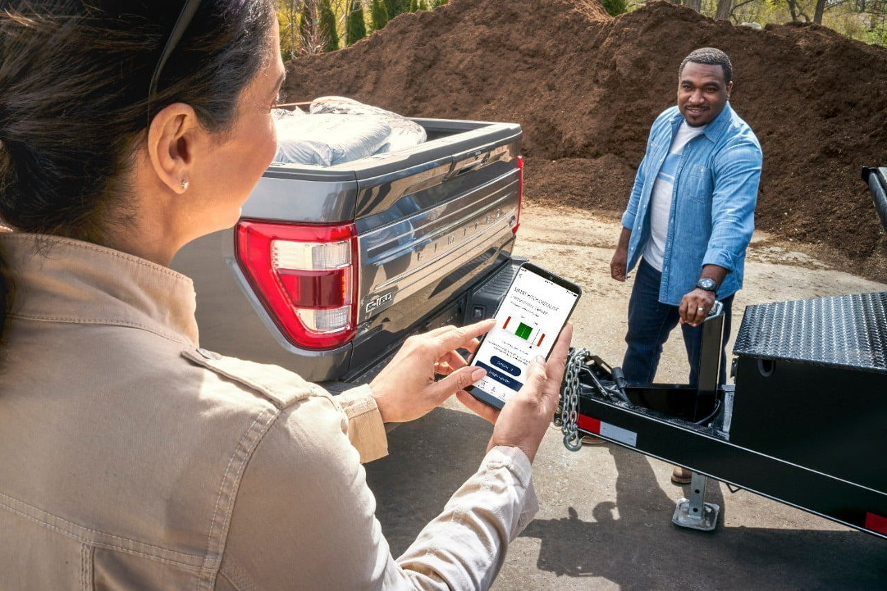 Ford F-150 Onboard Scales FordPass Smart Hitch