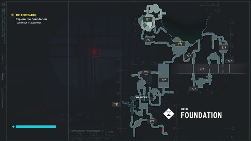 Control The Foundation Map